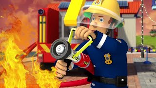 Fireman Sam US ⭐️ Fire on Stage! | Best Rescue Compilation 🔥Kids Movie