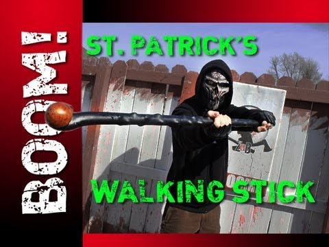 Asa gets lucky! | Irish Blackthorn Walking Stick