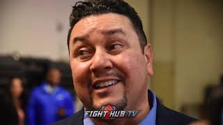 "Eric Gomez says fights with Jermell Charlo and Jarrett Hurd for Ali are ""realistic"""