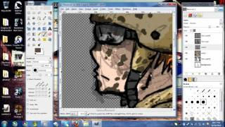 Speed Painting_ Muddy Anime Soldier HD