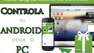Controlar Dispositivo Android desde un PC / APLICACIONES ANDROID