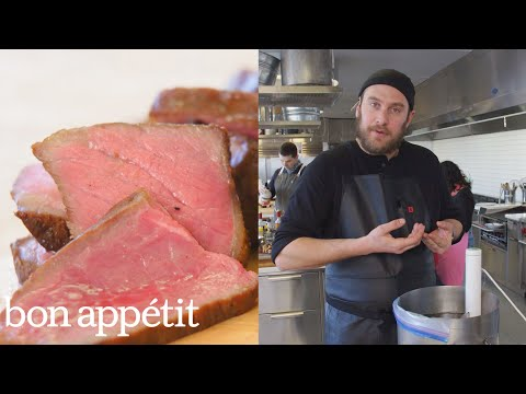 Brad Makes Sous Vide Steak | Kitchen Basics | Bon Appetit