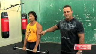 Instructional Fitness - Reverse Curls