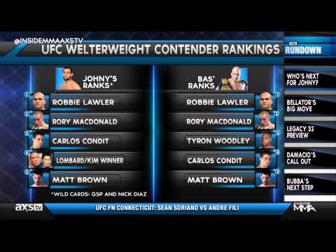 Johny Hendricks Breaks Down the Welterweight Division