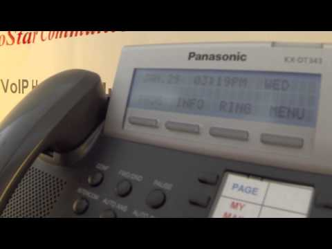 Conference Call Panasonic Kx Dt333 02 Conference Call Video