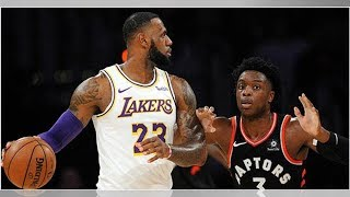 Lakers projected starting lineup vs. Raptors Thursday