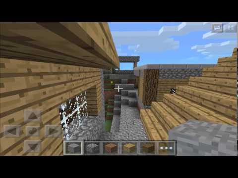 Seed con ALDEA para MUNDOS ANTIGUOS Minecraft PE 0.9.x