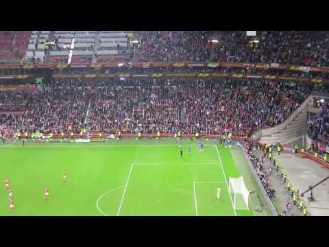 Ivanović 93rd minute goal for 2:1 Chelsea-Benfica UEFA Europa League Final 2013 Live [HD]