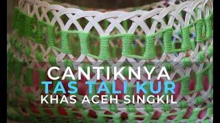 Cantiknya Tas ''Hybrid'' dari Tali Kur dan Gelas Plastik
