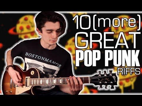 10 (more) Great Pop Punk Riffs w/ Tabs