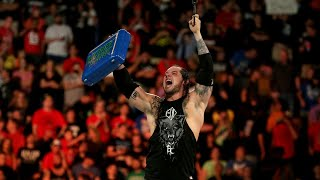 Baron Corbin wins the 2017 Money in the Bank Ladder Match