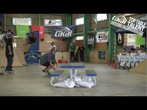 LAKAI Limited Footwear Presents:TOP TABLE TALENT 2012 FINALS