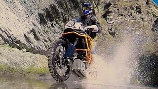 Download KTM1190 Adventure R Red Bull Athlete Chris Birch cuts loose 3Gp Mp4