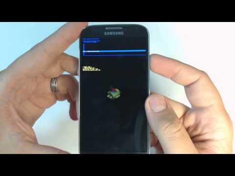 Samsung Galaxy S4 I9505 - How to reset - Como restablecer datos de fabrica