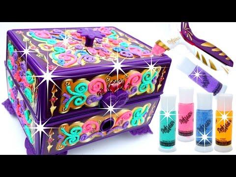 DIY How To Make Dohvinci Play Doh Sparkle Jewelry Secret Glitter Dohvinci - Mighty Toys
