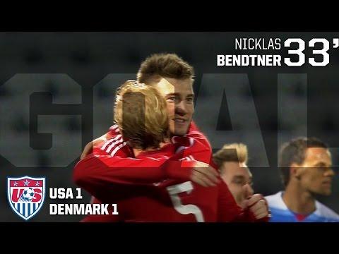 MNT vs. Denmark: Nicklas Bendtner Goal - March 25, 2015