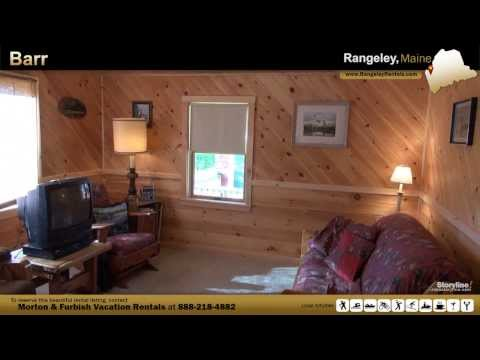 Vacation Rental in Rangeley, ME - Barr