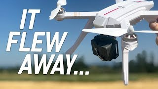 MJX RC Bugs 3 PRO GPS 1080 - FLY AWAY DRONE! - Review & Gopro Flights