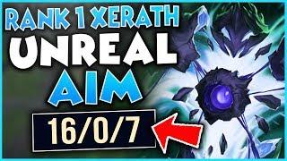#1 XERATH WORLD INSANE SKILL-SHOT SKILLS! (SCRIPTING LEVEL) - League of Legends