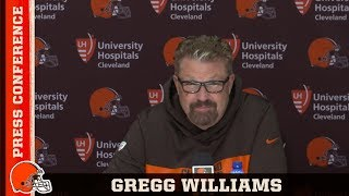 Gregg Williams 'We Treat Every Week Like a Playoff Game' | Cleveland Browns