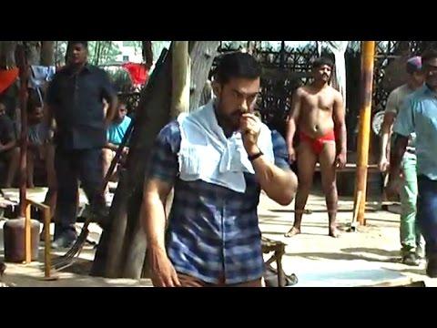 Aamir Khan DANGAL On Location Video LEAKED Part 2