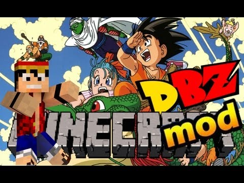 Minecraft 1.5.1 Dragon Ball Z 1.0F MOD + .minecraft com Optifine