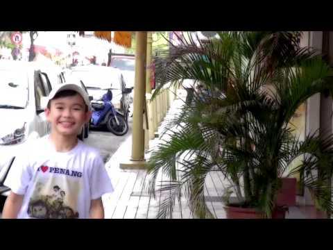 2014   Happy in  Penang