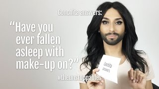 #ConchitaAnswers #15: Have you ever fallen asleep with make-up?