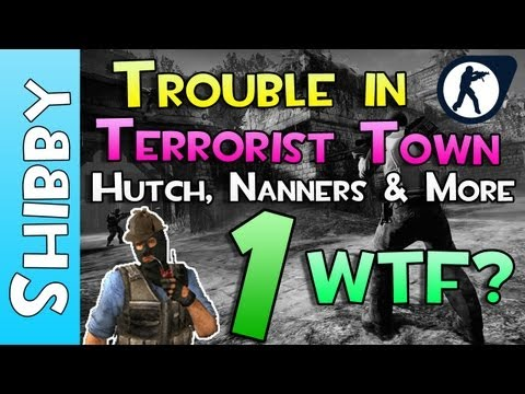 Lets Play? - WTF IS TTT? (Trouble in Terrorist Town - Gameplay Commentary #1)