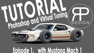 #TUTORIAL PHOTOSHOP |VIRTUAL TUNING| Episode. 1 |RP_DSGN