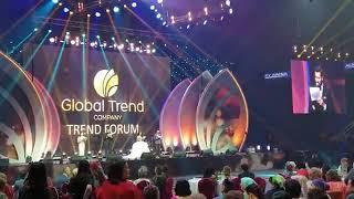 Создатели и учредители Global Trend Company на сцене в Алматы-Арена!  11 мая 2019 года