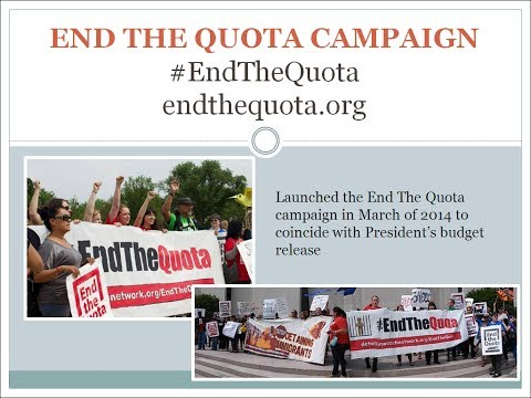Webinar to #EndtheQuota for Immigration Detention: June 12, 2014