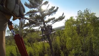 Gunflint Lodge Zip Line - GoPro