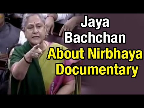 Actress and MP Jaya Bachchan criticizes Modi government over Nirbhaya documentary