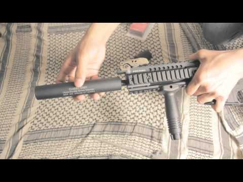 ThathirdFilms: How to create a Silent Airsoft Gun without a PVC Silencer