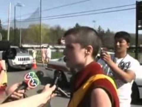 Western Shugden Society protest Dalai Lama's PERSECUTION