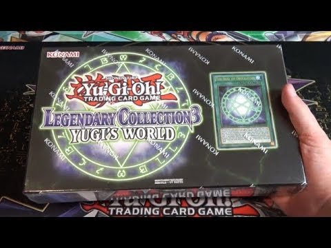Yugioh Legendary Collection 3 Yugi's World Unboxing - Yugi Muto's Cards!