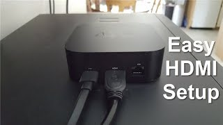 How to connect apple TV to TV with HDMI!! - New apple TV 4K 32GB Review & Setup! - Easy & Fun