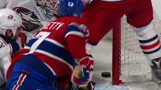 Pacioretty looks to have scored in OT but review would prove otherwise?