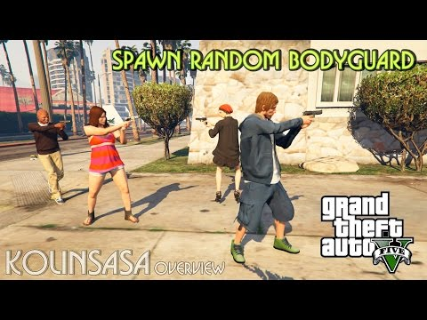 Spawn Random Bodyguard