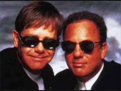 Billy Joel Elton John Face to Face cd Elton John Billy Joel-candle