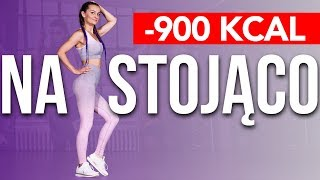 🔥TABATA NA STOJĄCO 🔥BEZ MATY / SPAL 900 KCAL /  INTERVAL WORKOUT 55 MIN / STANDING EXERCISES ONLY