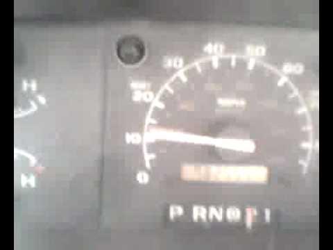 how to fix bouncing speedometer