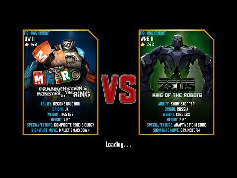 Real Steel WRB Free Sparring Metro Frankenstein VS Zeus NEW ROBOT UPDATE