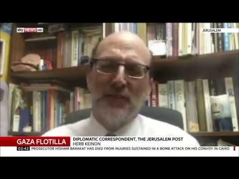 Herb Keinon Discusses Gaza Flotilla Breach Attempt