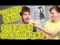 TACO BELL BLENDER CHALLENGE (w/ Joey Graceffa) | Lucas