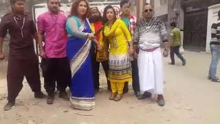 New Bangla Movie Aktu chowar shooting time