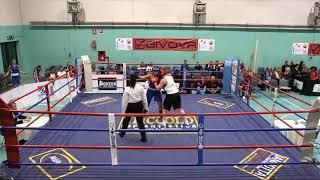 Women Boxing League 2017 Day 1 RING B - MONTALCINI VS PALMIERI