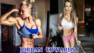 Jordan Edwards - Fitness Model / Best Workout For a Ripped & Shredded Body