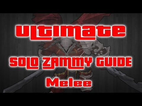 """""""Ultimate Solo Zamorak Guide"""" – Melee – Weapons And Gear Multiple Setups – Low And High Levels"""